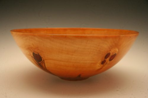 Large Norfolk pine bowl.