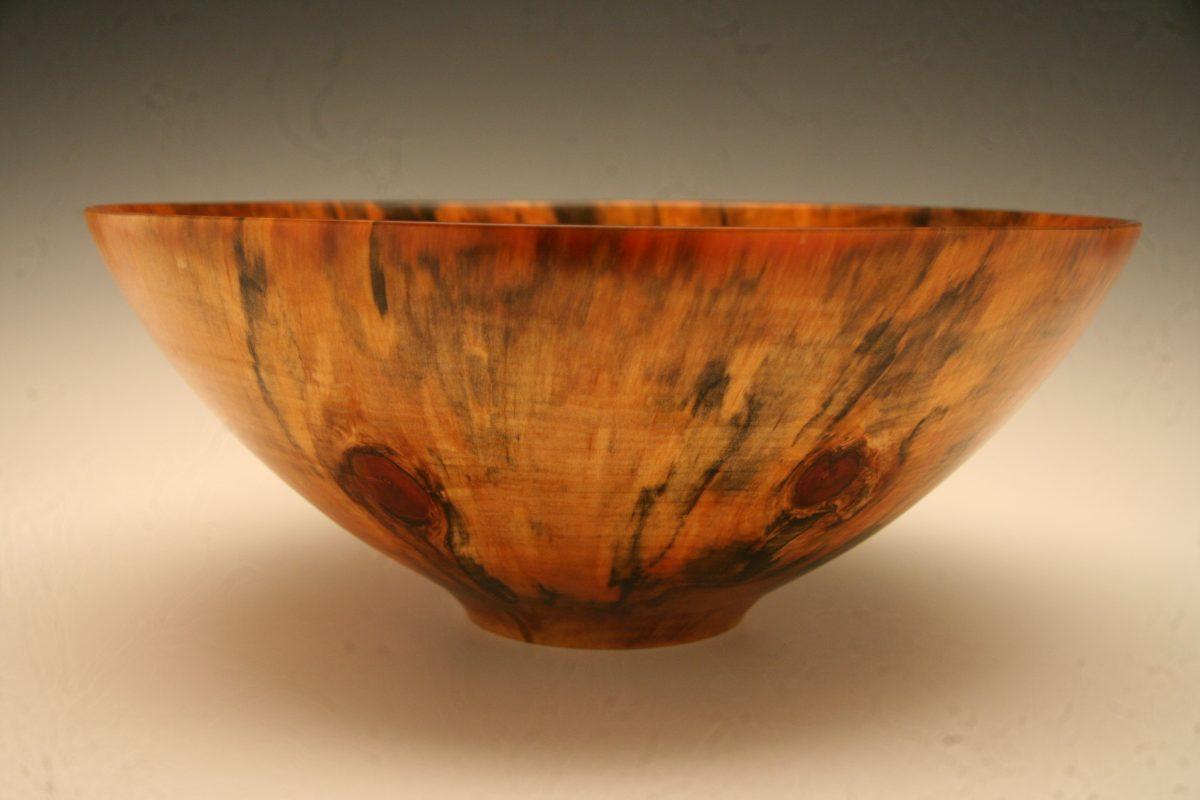 Translucent Pine bowl.