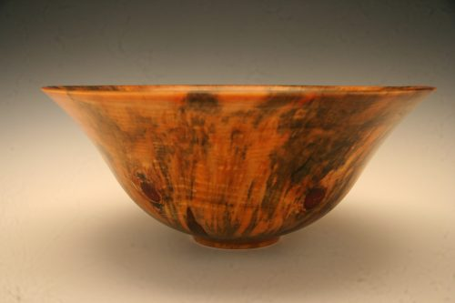 Beautiful Roman wood bowl.